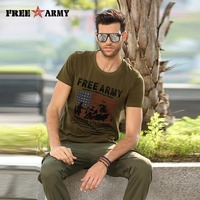 Estate di modo di marca moda uomo tee shirt army clothing homme t-shirt militare logo stampa di ragazzi t camicette streetwear ms-6296a