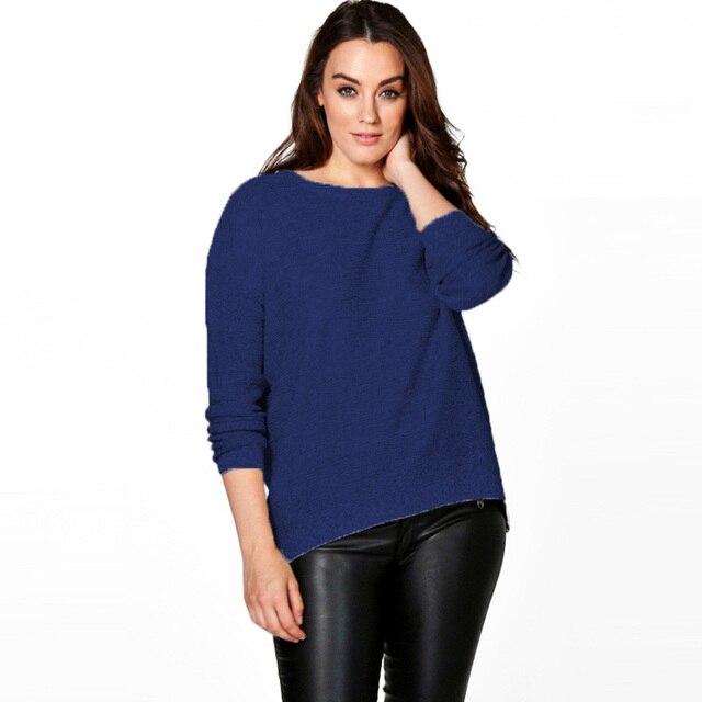woman cotton sweater zipper pullover knit plus size cropped pullovers oversize fashion kazak bayan christmas sweaters