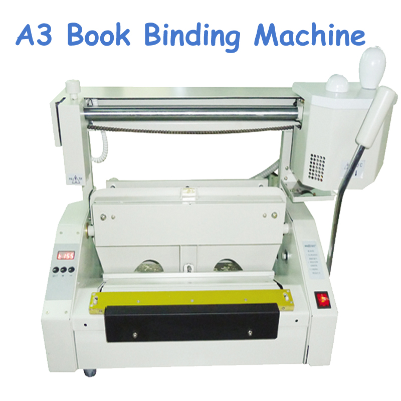 A3 Desktop Glue Book Binding Machine 110V/220V Electricity Binder RD-JB-3  цены