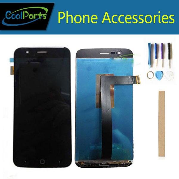 Calidad Original para Vernee Thor pantalla LCD y Sensor de pantalla táctil digitalizador montaje Color negro con cinta de herramientas