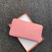 Kafunila Fashion 100% genuine leather Wallets for women High Quality Long Coin Purse Luxury designer Cash Pocket Girls Handbags