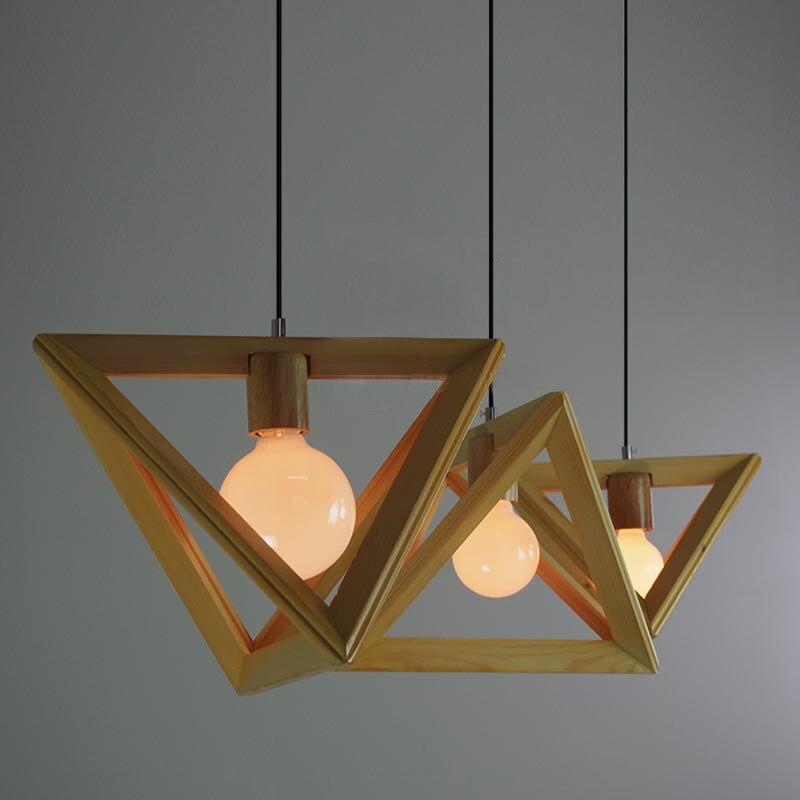 Unusual Pendant Lights dekin designer pendant light wood home light fixture for foyer