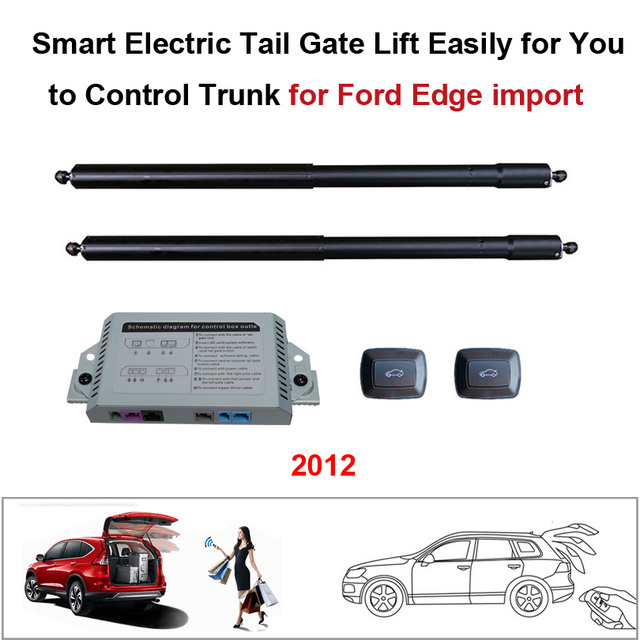 Smart Auto Electric Tail Gate Lift For Ford Edge  Control Set Height Avoid Pinch With