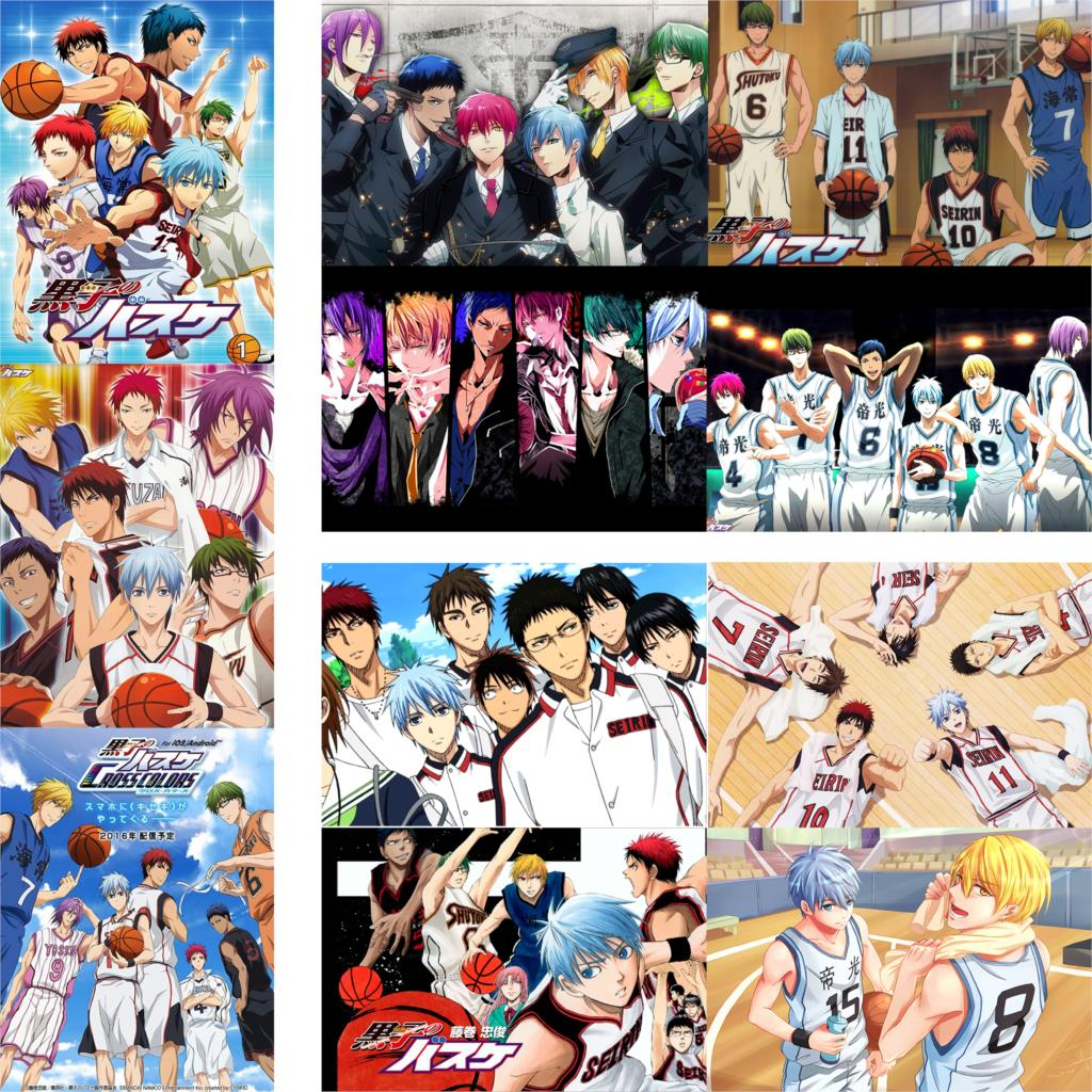 Kuroko 39 s Basketball posters wall stickers high definition home decoration glossy paper prints free shipping drop sale in Wall Stickers from Home amp Garden