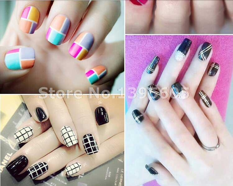 Rolls Striping Tape Line Nail Art Sticker Tools Beauty Decorations For On Stickers 39 Colors Free Shipping In Decals From Health