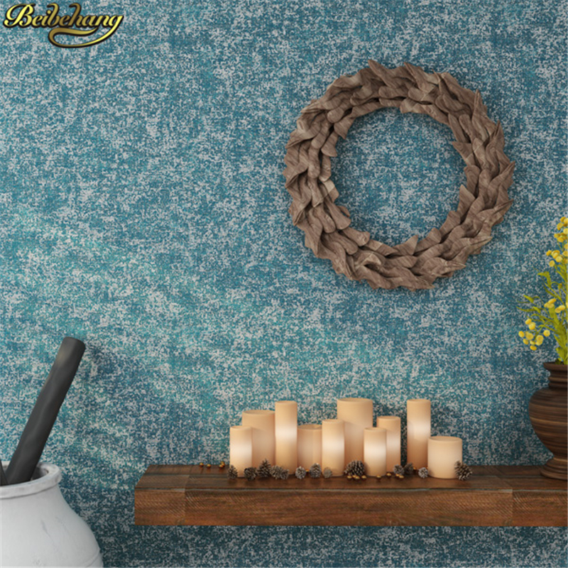 beibehang papel de parede 3d Retro blue wallpaper for walls 3 d solid green beige wall papers home decor living room background beibehang papel de parede 3d wallpaper rolls tv background wall paper 3d modern wallpaper for walls 3 d wall papers home decor