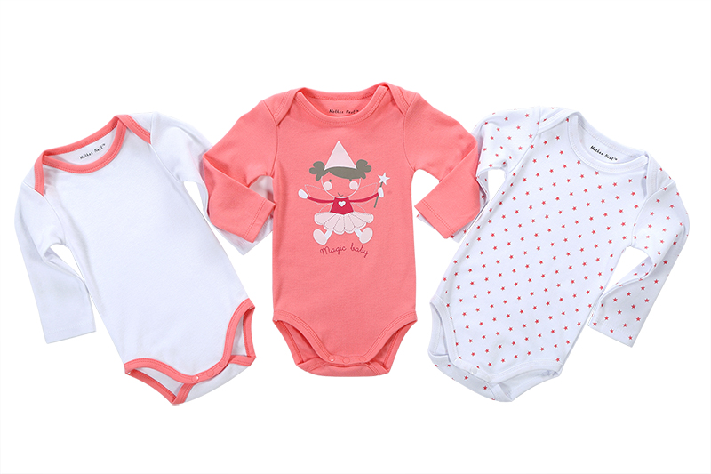 Fashion Baby Clothing Set Newborn 3 Pieces Lot Cartoon Printed