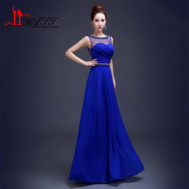 Bonito Damas De Honor Azul Vestidos De Reino Unido Inspiración ...