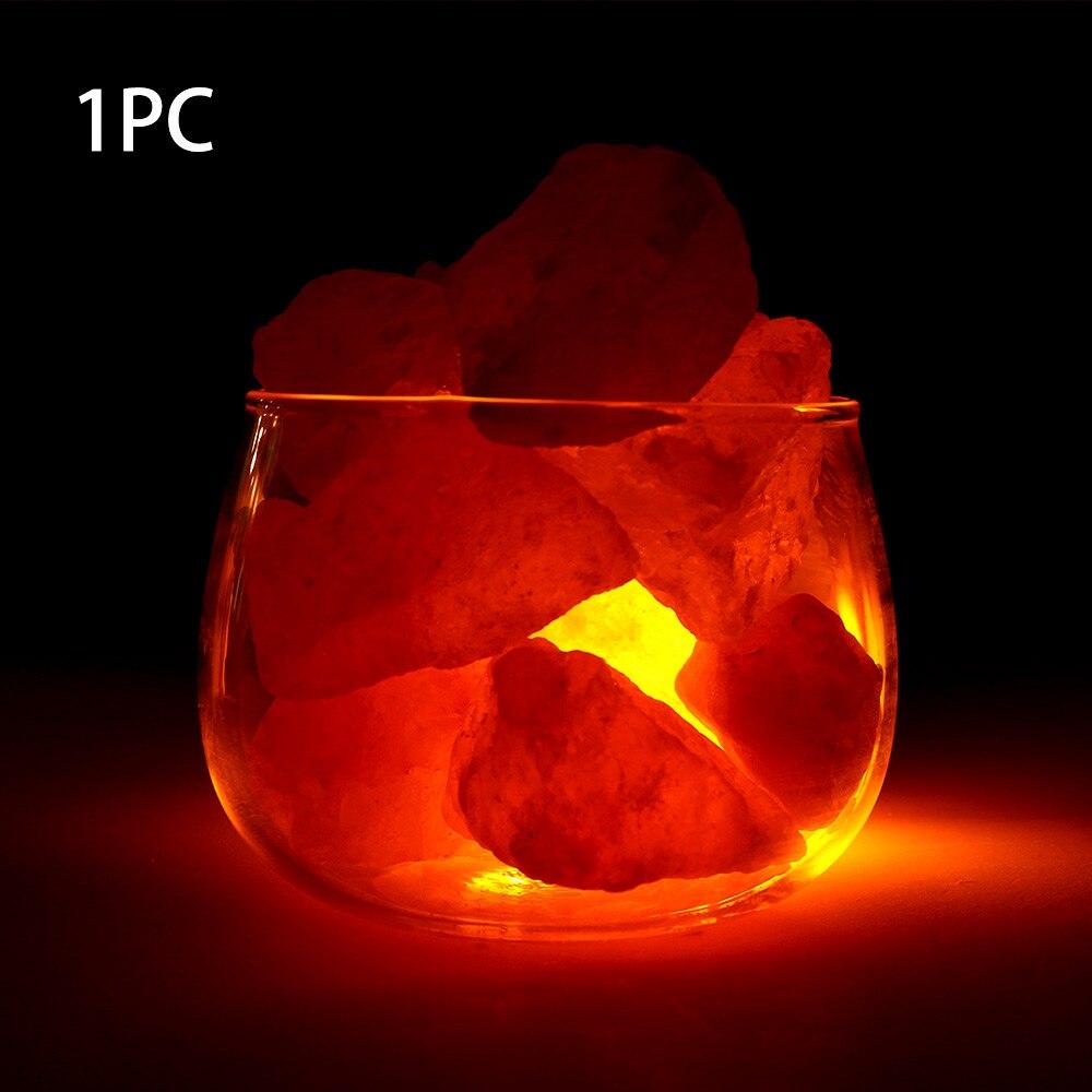 1Pcs Natural Himalayan Air Purifier Crystal Rock Salt Block For Salt Light Lamp