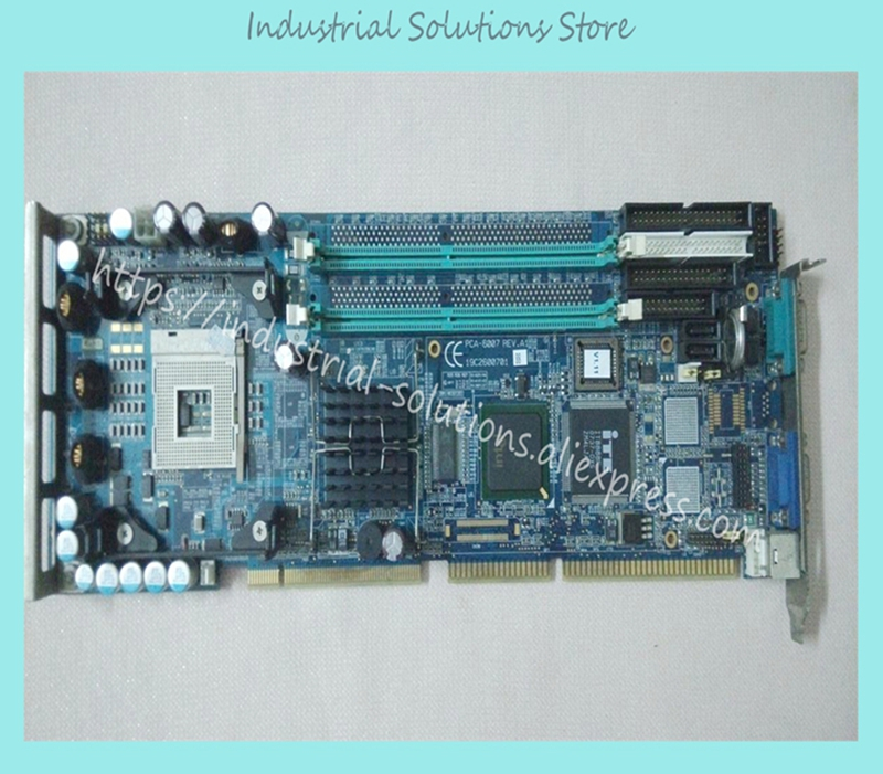 CPU Board PCA-6007LV Industrial Motherboard 100% tested perfect quality pca 6003 pca 6003ve a2 industrial motherboard tested good board with fan cpu and ram