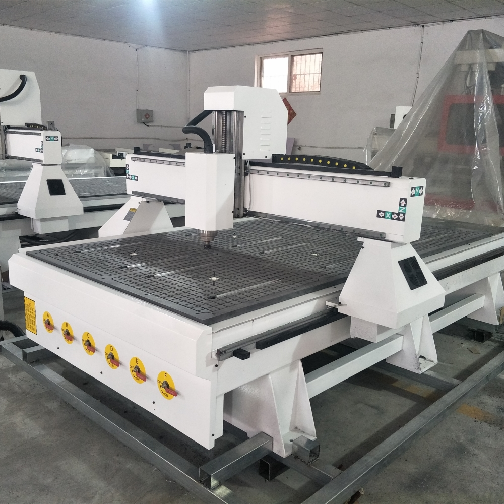Chinese Manufacturer CNC Router 1325 Model High Speed Cnc Milling Machine 4x8 Feet Size 3d Wood Engraving Lathe Cnc Machine Kit