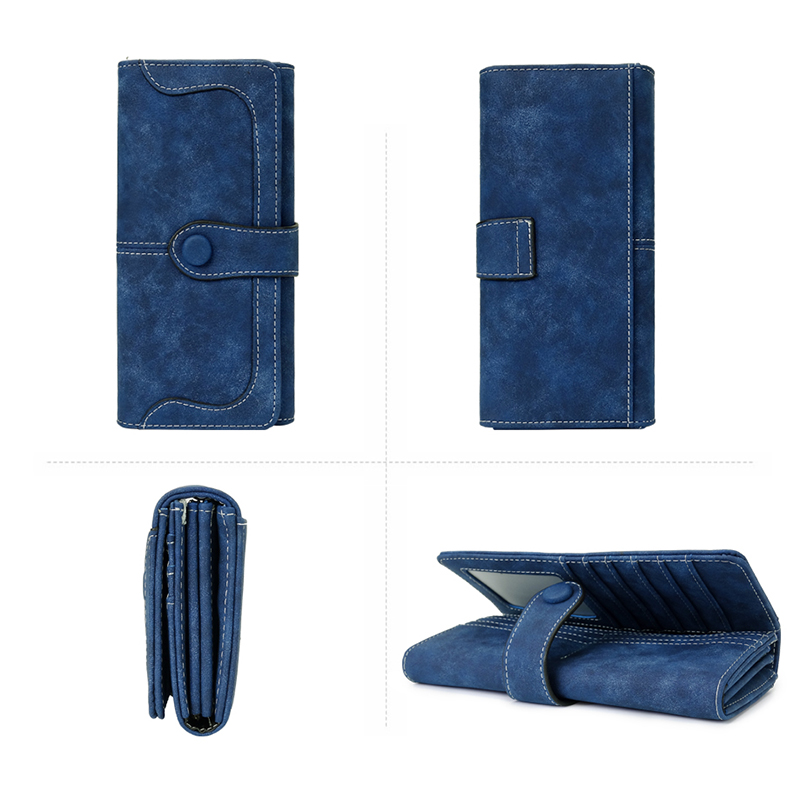 Wallet Brand long Black