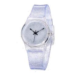 Часы для девочек Водонепроницаемый дети часы резиновый ремешок для часов Кварцевые наручные часы Горячая Relojes relogio infantil