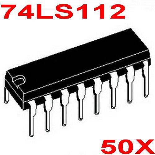 ( 50 pcs/lot ) 74LS112 Logic IC, DIP Package,TTL.