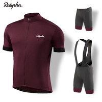 Bicicleta pro equipe dos homens de corrida ciclismo conjunto camisa topos 2019 raphaing bicicleta camisa roupas secagem rápida ciclismo kit Kits ciclismo     -