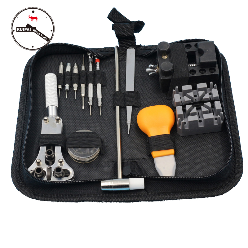 13 in 1 Watch Repair Tools Kit Watch Case Opener Band Strap