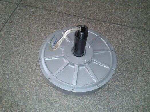 1000W/1KW 110 150 180 350RPM 24 48 96 220VDC vertical wind turbine permanent magnet alternator coreless household DIY generator