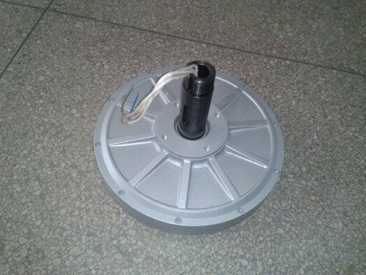 "1000 W/1KW 110 150 180 350 סל""ד 24 48 96 220VDC אנכי טורבינת רוח מגנט קבוע אלטרנטור coreless ביתי DIY גנרטור"