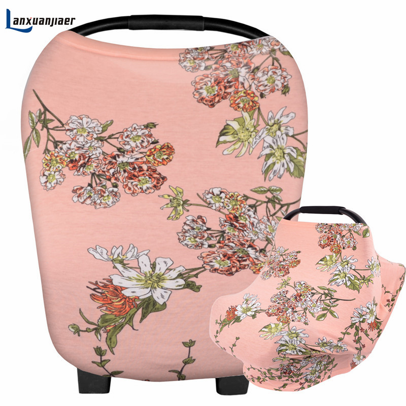 Lanxuanjiaer nappy nursing cover Baby Shopping Cart Cover Anti Dirty fashion Baby Safety Seats Baby Chair Cover High Quantity