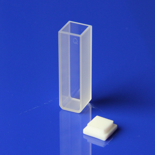 10mm pfad länge 3,5 ml Q104 quarz küvette für probe-in Reagenzglas aus Büro- und Schulmaterial bei  Gruppe 1