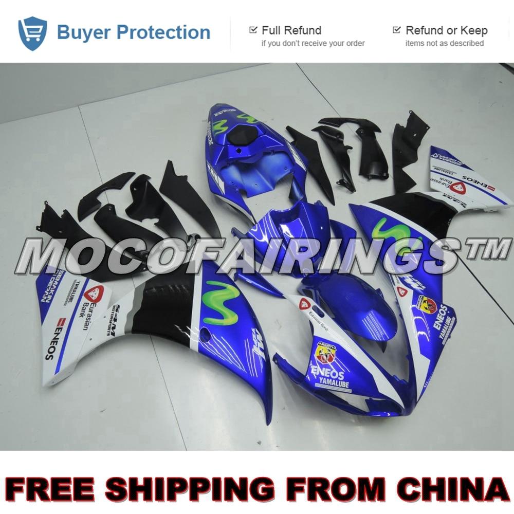 Free Shipping Fairings For Yamaha YZF R1 2009 2010 2011 Motorcycle ABS Fairing Kit