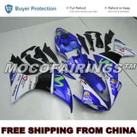 Free Shipping Fairings For Yamaha YZF R1 2009 2010 2011 Motorcycle ABS Fairing Kit