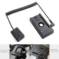Power Adapter NP-F970 Om NP-FW50 Dummy Batterij Mount Plate Adapter Lente Kabel Voeding En Accessoires Voor Sony