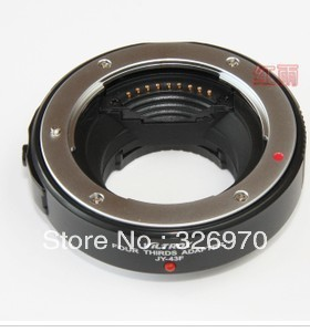 viltrox  JY-43F FOR Olympus EP3 EP2 adapter ring 4/3 lens adapter  WITH TWO COLOR black + silver color (black )