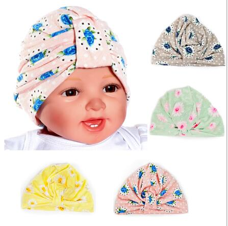 cd86d5661a7 2016 New Fashion Girl Head Wrap Cap knot turban top Bandana Hijab india  Bohemia Style Cover Flower Hat