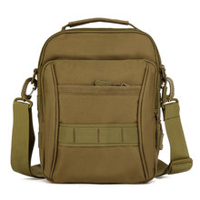 Купить с кэшбэком Fashionable Unisex Tactical Waterproof Bag Messenger Pack Outdoor Leisure School Advance Defense Ultra-light Range Carrier