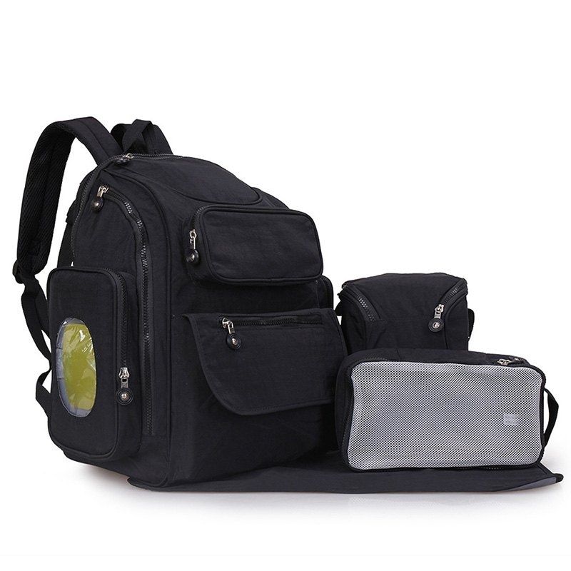 1ec556a7b535 US $34.99 49% OFF|Diaper Backpack Large Capacity Baby Bag Multi Function  Travel Nappy Bags Fashion Mummy Roomy Waterproof Nursing Bag for Kid  Care-in ...