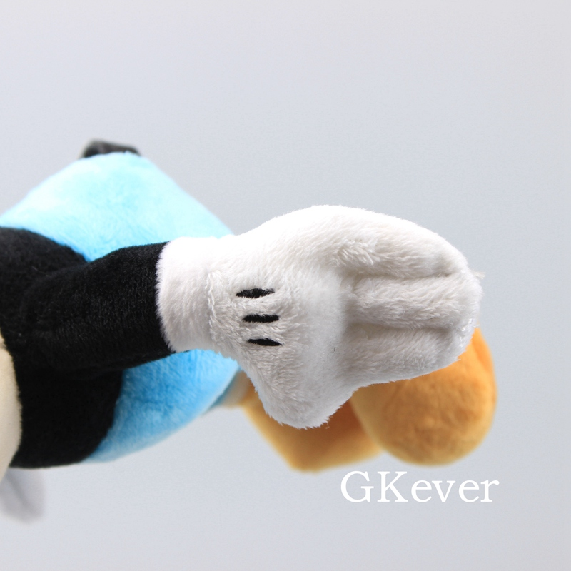 """10 Pcs/Lot Cuphead Game Figure Mugman Mecup And Brocup Plush Toy 9"""" 23 cm Children Gift 6"""