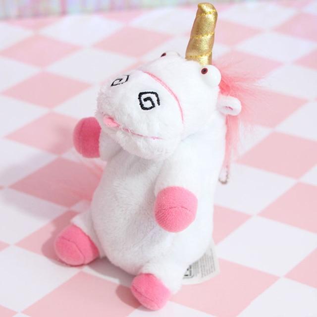 Cute Pink Fluffy Unicorn Plush Toys Soft Stuffed Animal Cartoon