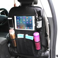 Car Storage Bag Universal Box Back Seat Bag Organizer Backseat Holder Pockets Car-styling Protector Auto Accessories For kid(China)