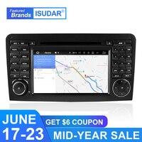 Isudar автомобильный мультимедийный плеер 2 Din Android 9 для Mercedes Benz/класс GL ml W164 ML350 gps автомобильное радио, dvd плеер DSP Octa Core FM