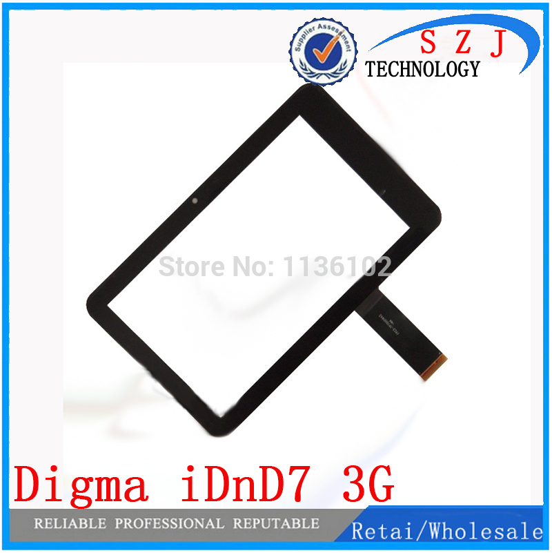 New 7'' Inch For Digma IDnD7 Touch Screen Panel Digitizer Glass Replacement For Digma IDnD7 8Gb 3G Free Shipping