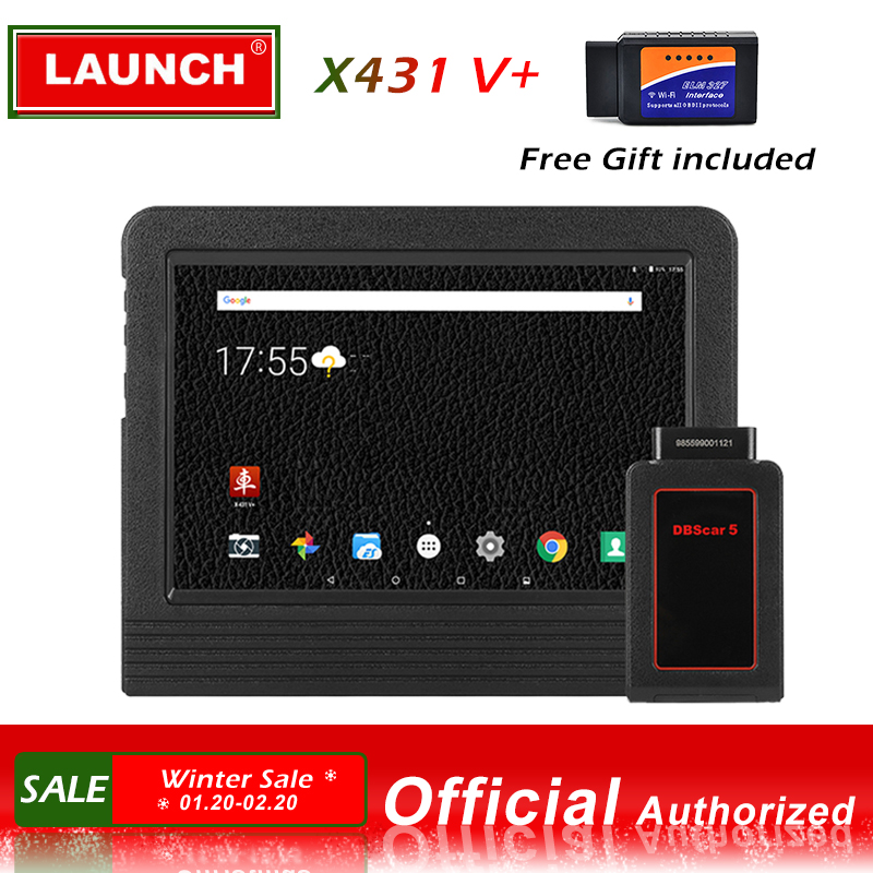 Launch X431 V + Automotive Diagnostic Tool Full System Diagnostics Scan Tools Sc