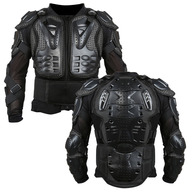 Full Body Motorcycle Armor Jacket Motocross Armor Vest Chest Gear Parts Protective Shoulder Hand Joint Protection Accessories