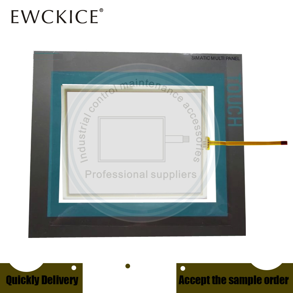 NEW 6AV6 643-0ED01-2AX0 MP277-10 6AV6643-0ED01-2AX0 HMI PLC Touch screen AND Front label Touch panel AND Frontlabel