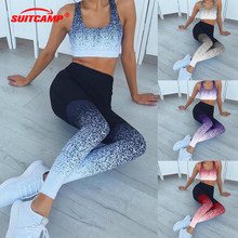 Yoga Leggings Sports Pants Women sports clothing trousers Fitness yoga Compression Sport Tights Sportswear clothes