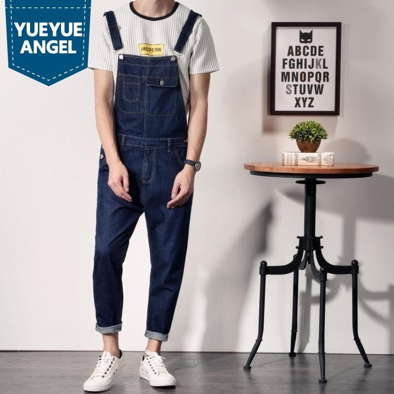 2019 Nieuwe Mode Hoge Kwaliteit Camouflage Jeans Denim Overalls Mannen Casual Wassen Skinny Pocket Overalls Jeans Mannelijke Jumpsuit Broek Gedistribueerd Worden Over De Hele Wereld