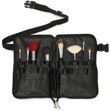1Pc Professional PVC Makeup Brushes Apron Bag Artist Belt Strap Black 28  Pockets Make Up Brush 5f0861295b54f