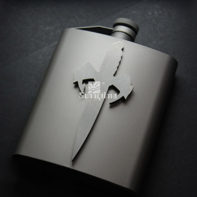 ВДГ титана открытый вино 200 Открытый campingmlBackpack выживания кувшин, портативный чайник Тип сумка для велосипеда