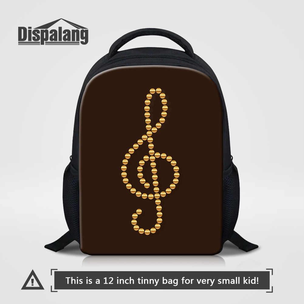 Dispalang Kids Cartoon School Bags For Kindergarten Mochilas Musical Note Printed  Backpack Baby Small Rucksack Children d4b0c8da7812a