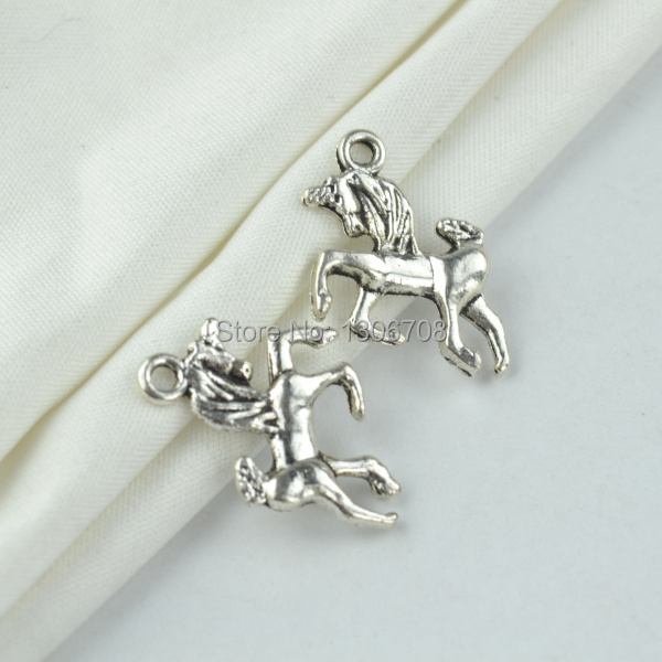 Jewelry Sets & More Generous Wholesale 100pcs Metal Tibetan Silver Charms Horse Pendants Hand Made Supplies Fit Necklaces Bracelets Jewelry Making Z42792