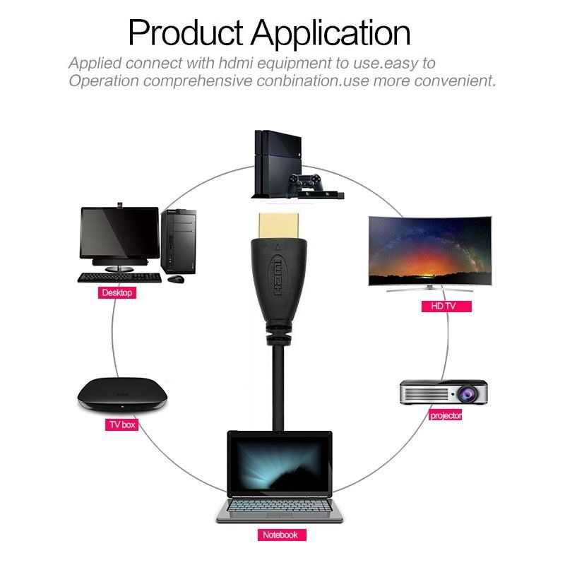 1 m 1.5 m 2 m 3 m 5 m 10 m Ultra HD kabel HDMI 2.0 v/1.4 v wysokiej prędkości + Ethernet 2160 p HDTV 4 K 3D złoty