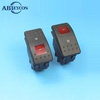 RS402 DPST Кулисный фиксации 4pin электрические кнопка включения выключения 15a 250 В кулисный переключатель