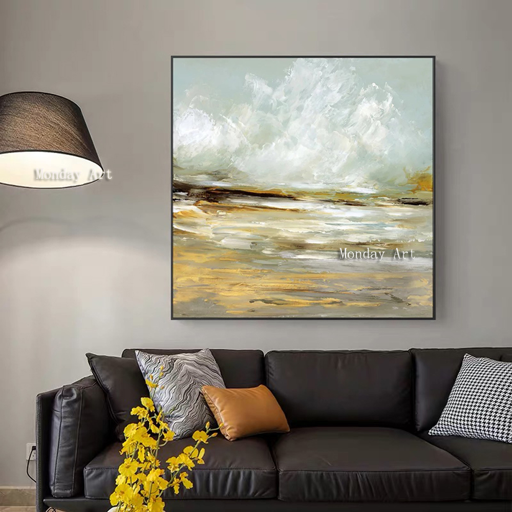 100% Hand painted Oil Painting Abstract picture On Canvas Wall Picture For Living Room modern hand Seascape oil painting