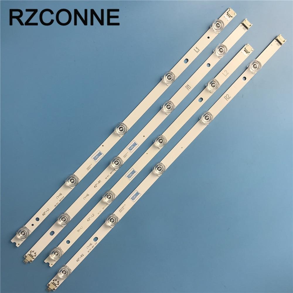 LED Backlight strip For LG 42 V14 Slim DRT Rev0 6 1 R1 L1 R2 L2