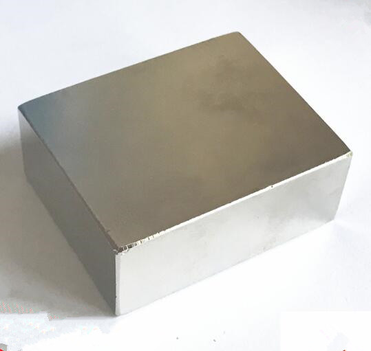 Free shipping 1PCS  50X40X20 Strong Rare Earth Cubic Block square Rare Earth Neodymium Magnets 50X40X20 mm Permanent 50*40*20 mm щебень фракция 20 40 мм 50 кг